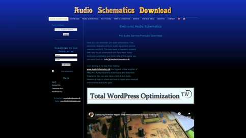 Audio Schematics - Free schematic downloads