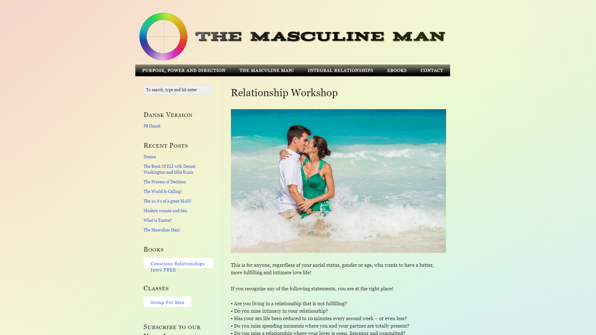 The Masculine Man