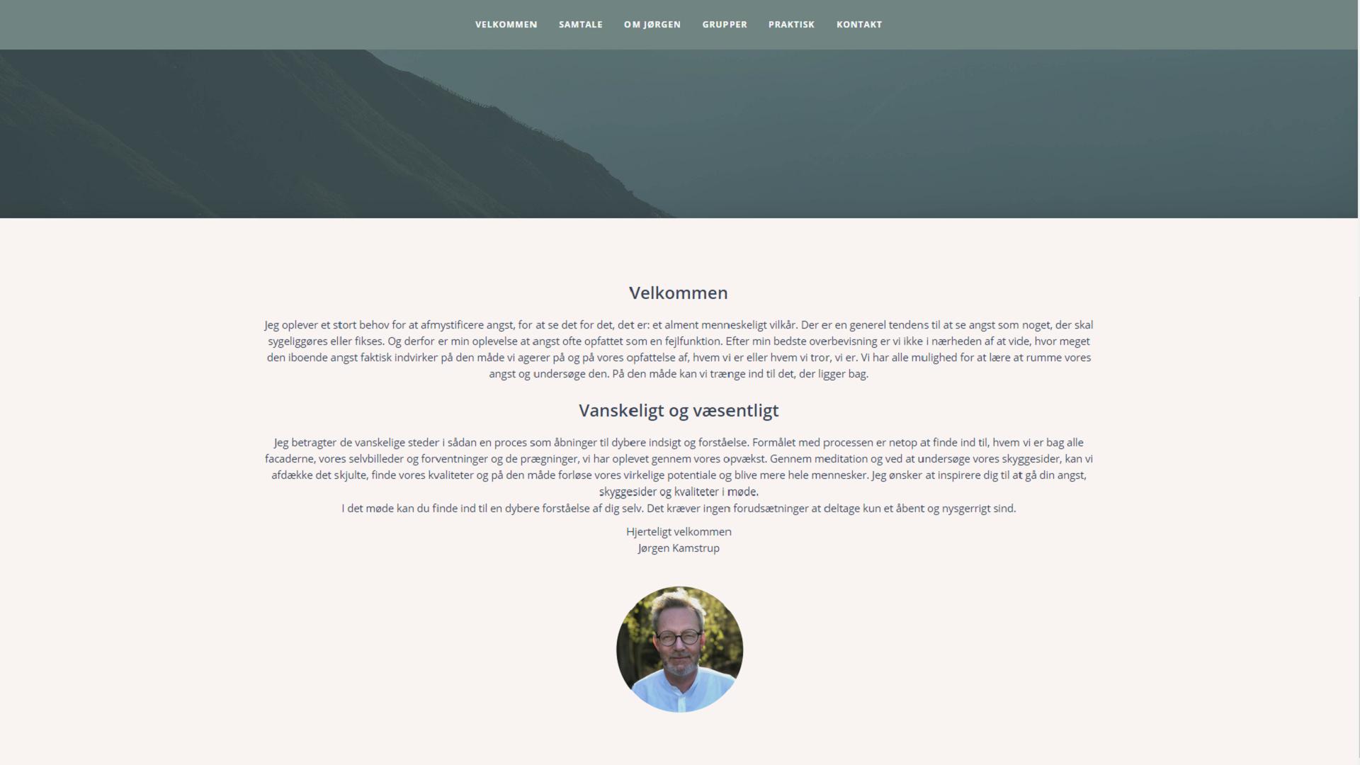 Jorgen Kamstrup - Hjælp til angst