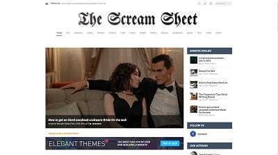 Scream Sheet news blog