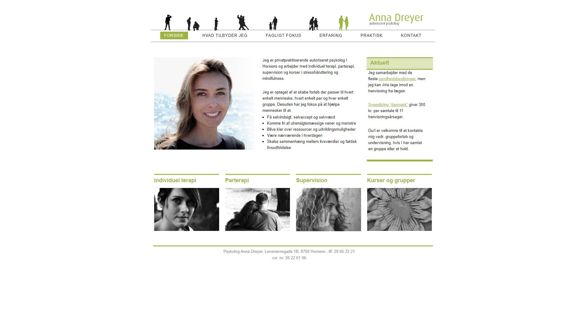 Psykolog Anna Dreyer