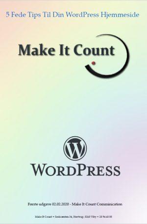 Fem Fede Tips Til Din WordPress Hjemmeside
