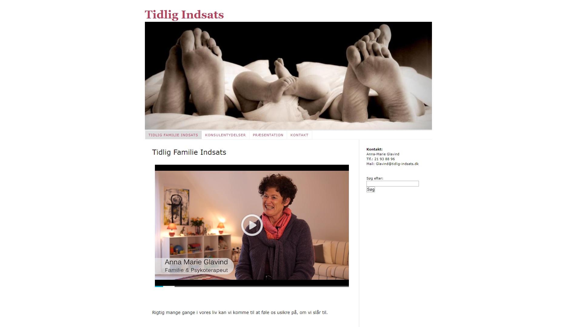 Tidlig-Indsats v. Anna-Marie Glavind